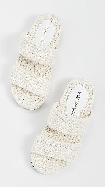 Zimmermann 绳索凉拖鞋