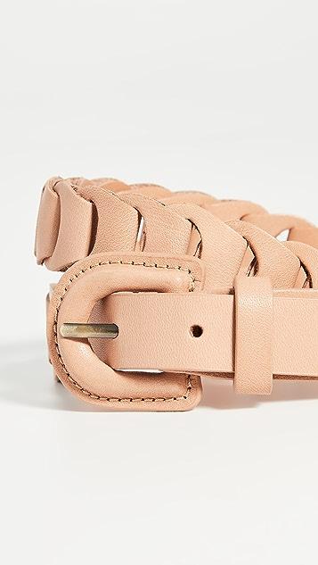 Zimmermann 皮链条腰带