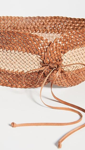 Zimmermann Широкий поясной ремень из ткани