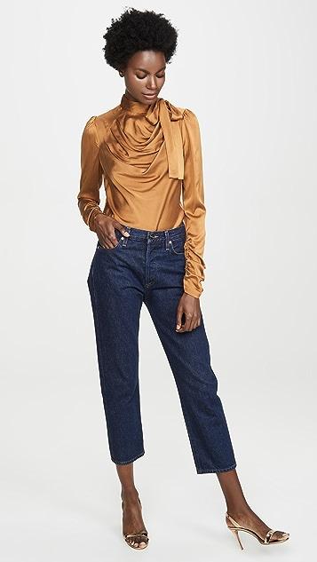 Zimmermann Шелковая блуза Espionage