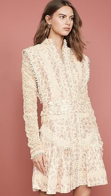 Zimmermann Платье-рубашка Sabotage