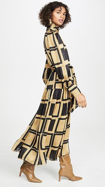 Zimmermann Resistance Roll Neck Dress