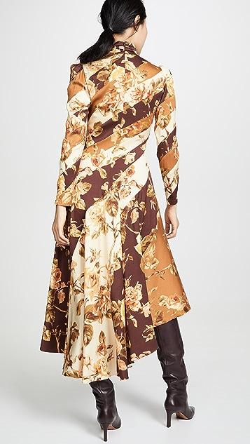 Zimmermann Resistance Spliced Dress