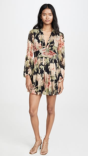 Zimmermann Espionage Fluted Romper