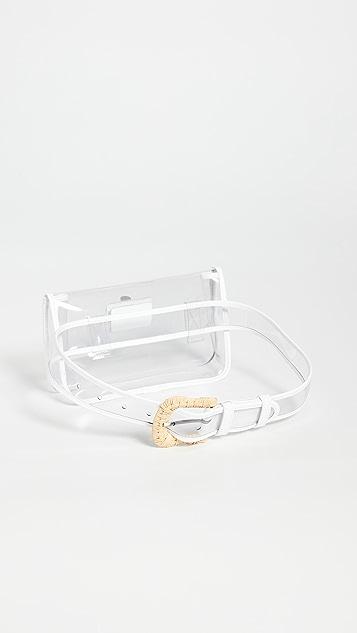 Zimmermann Прозрачная поясная сумка