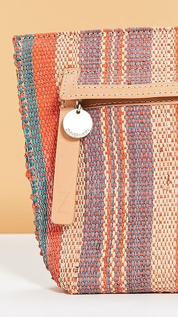 Zimmermann 草编条纹手包