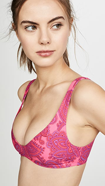 Zimmermann Sculpt Scoop Bikini Top