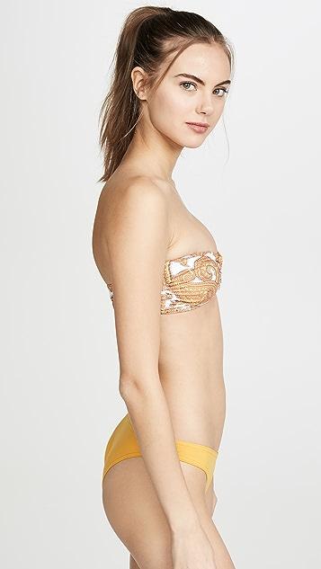 Zimmermann Sculpt Link Bikini Top