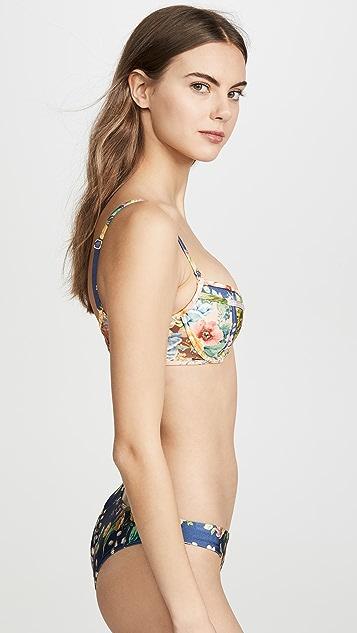 Zimmermann Zinnia Balcony Bikini Top