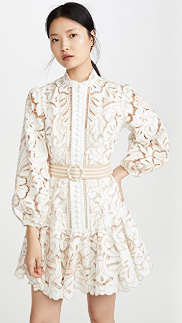 Zimmermann Edie Embroidery Dress