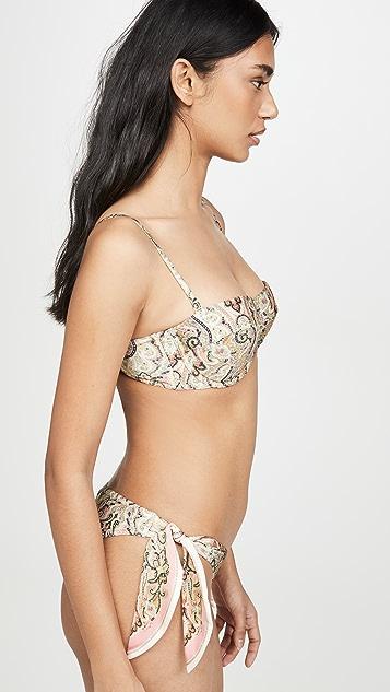 Zimmermann Freja Balconette Bikini Top