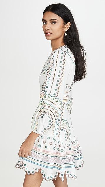 Zimmermann Peggy Multi Short Dress