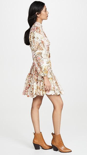 Zimmermann Bonita Embroidery Dress