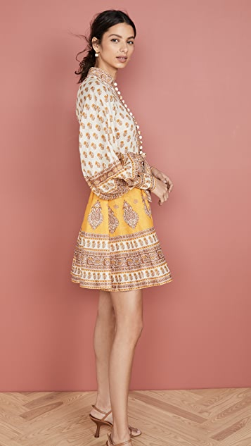Zimmermann Bonita Buttoned Dress