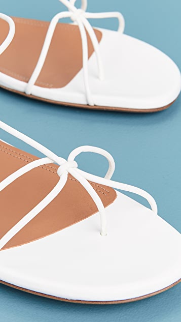 Zimmermann 系带式平底凉鞋
