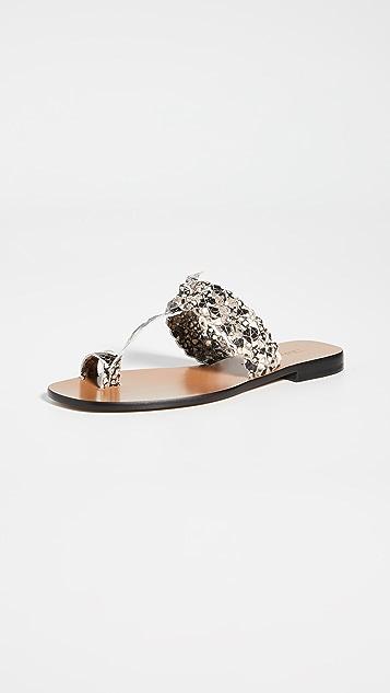 Zimmermann 编织凉鞋