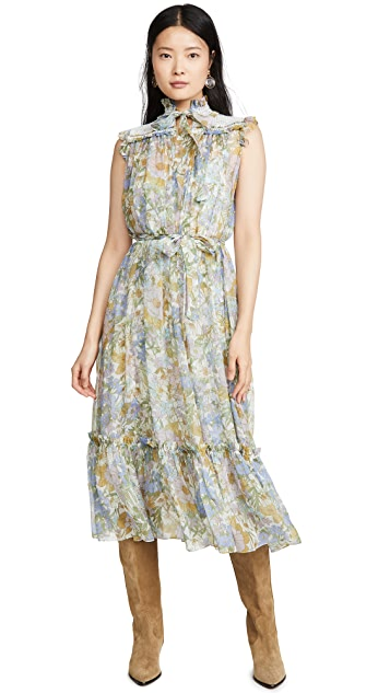 Zimmermann Super Eight Sleeveless Midi