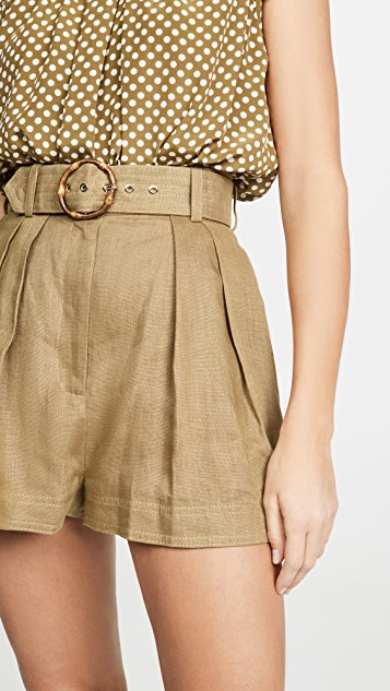 Zimmermann Shorts Super Eight Safari Shorts