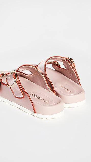 Zimmermann 缎面便鞋