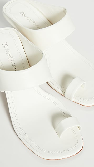 Zimmermann 绑带凉鞋
