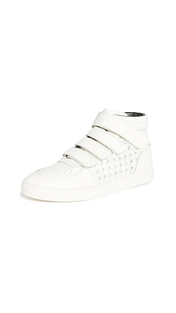 Zimmermann High Top Velcro Strap Sneakers