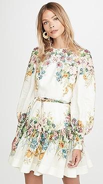 Wavelength Bell Sleeve Mini Dress