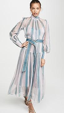 Wavelength Roll Neck Midi Dress