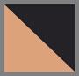 黑/棕褐色圆点