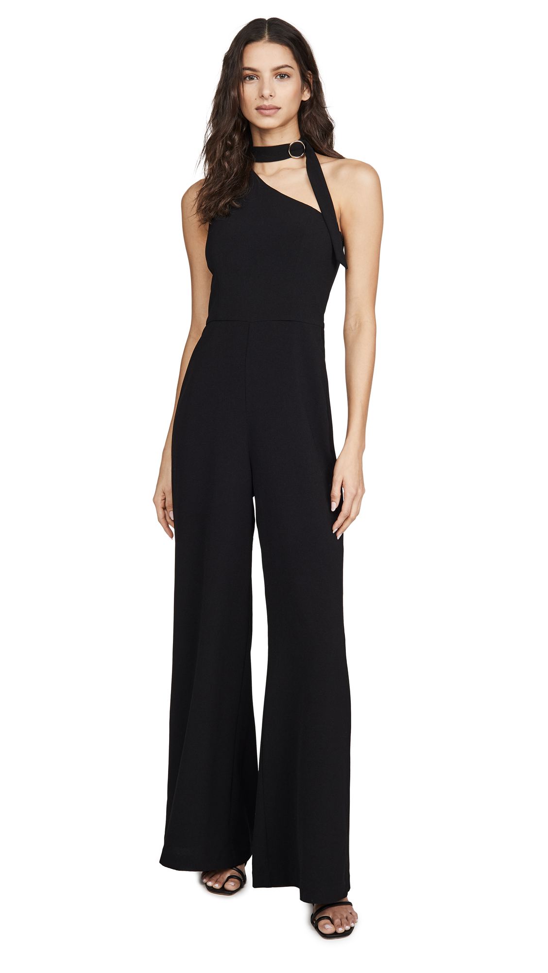 Zimmermann Neck Tie Jumpsuit