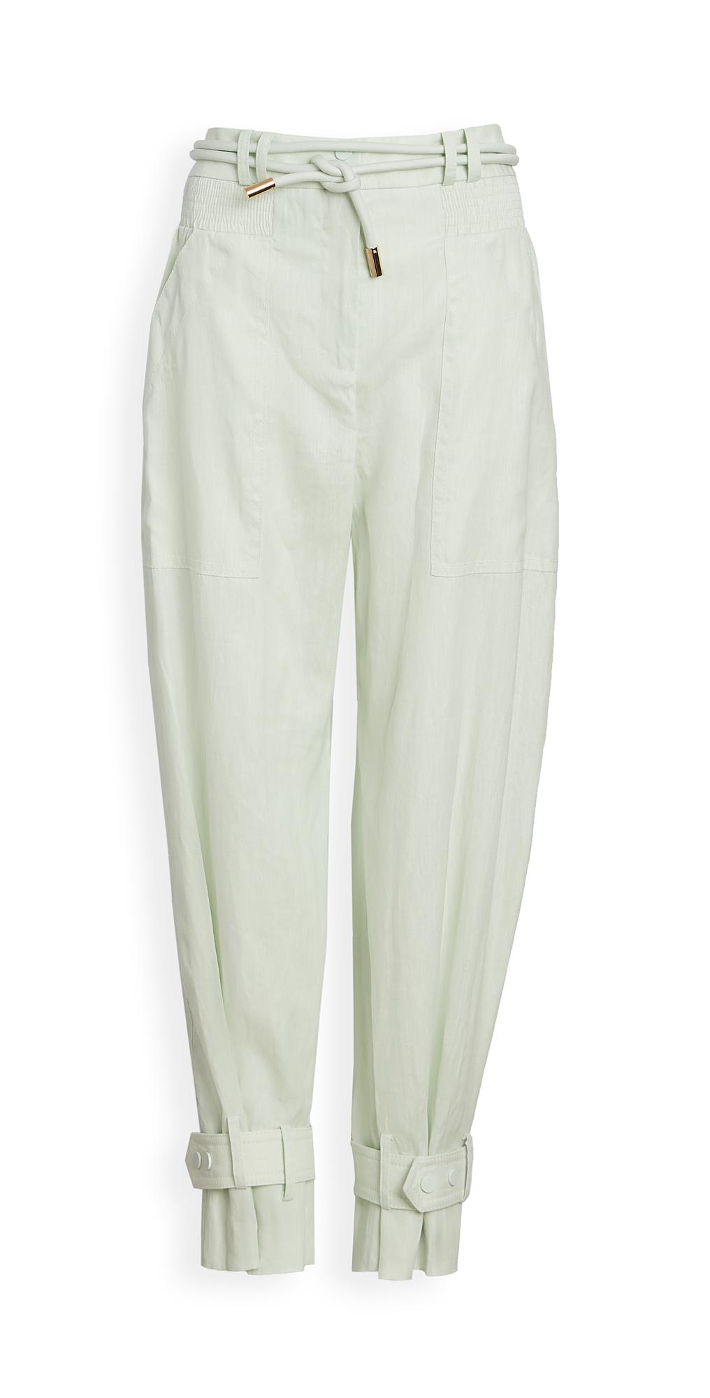 Zimmermann Glassy Slouch Army Pants