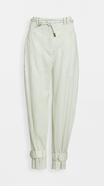 Zimmermann Glassy Slouch Army Pants