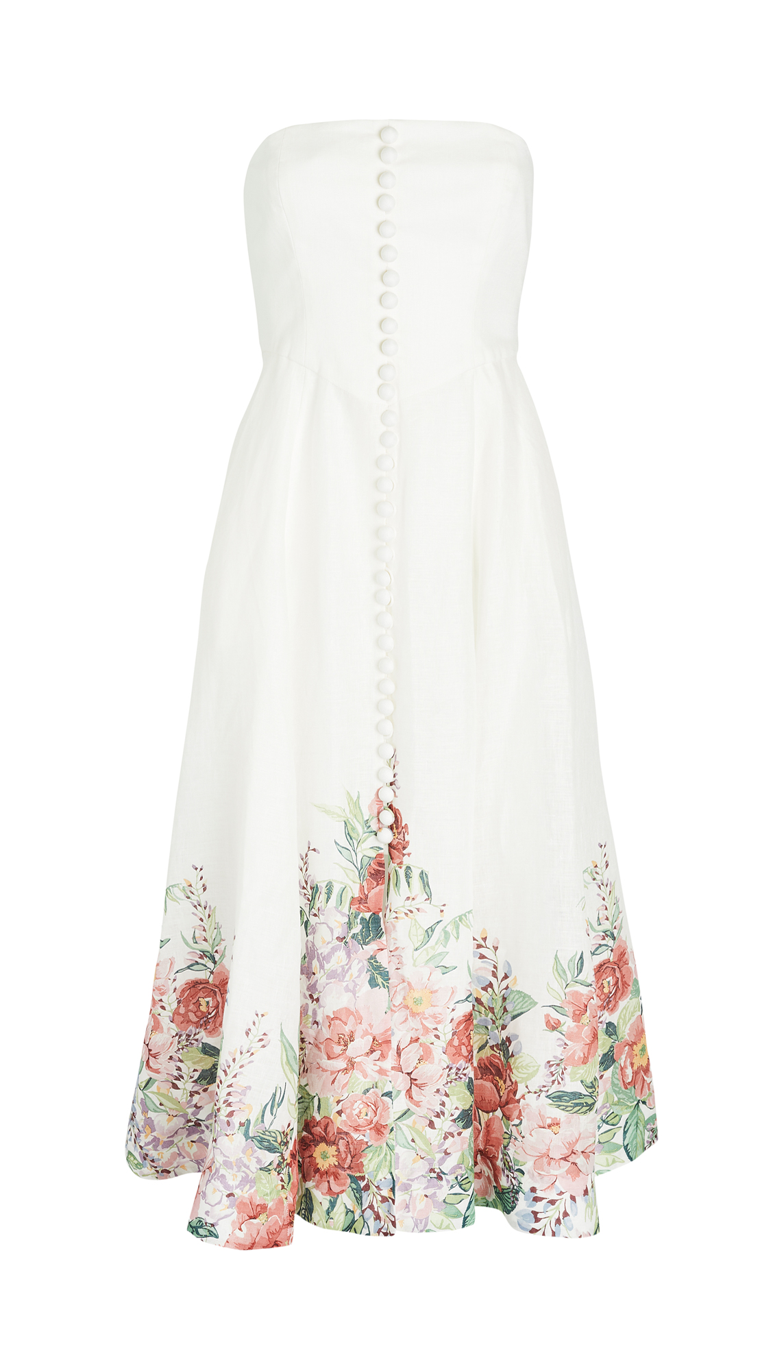Zimmermann Bellitude Bustier Long Dress
