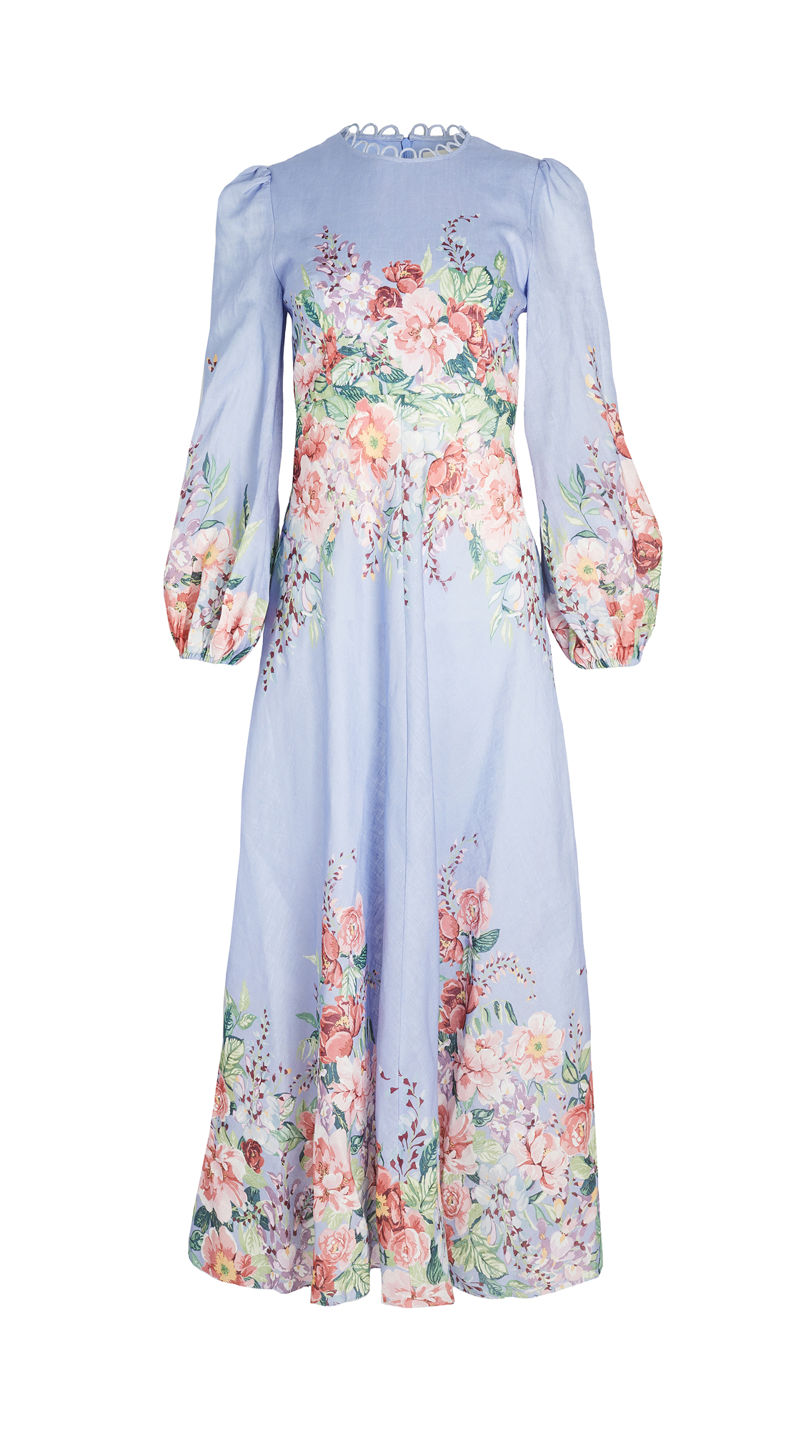 Zimmermann Bellitude Floral Long Dress