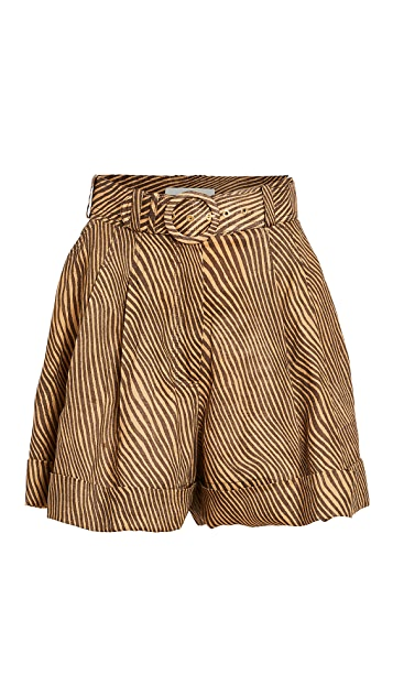Zimmermann Empire Cuffed Shorts