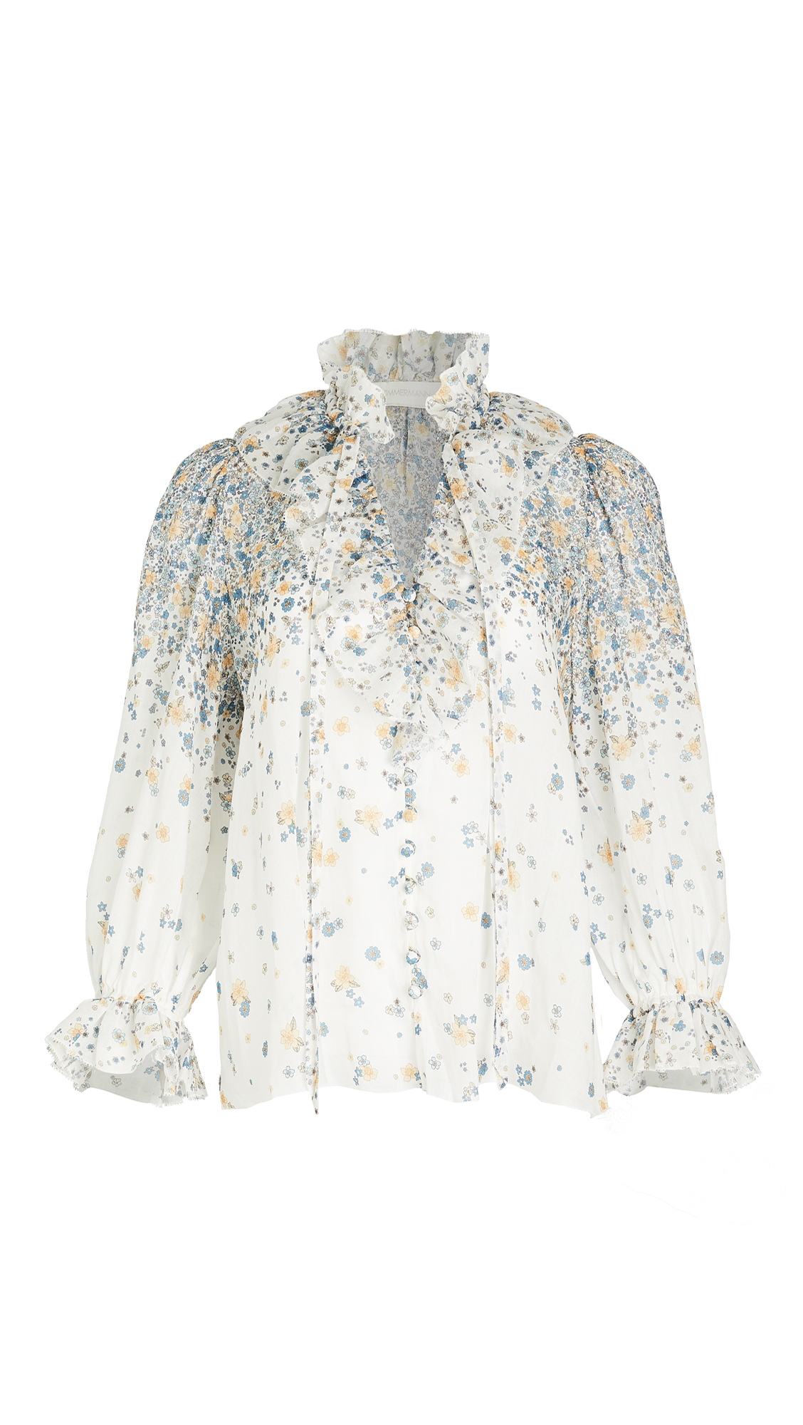 Zimmermann Carnaby Waterfall Blouse