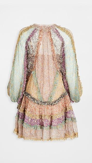 Zimmermann Carnaby Fril Billow Dress
