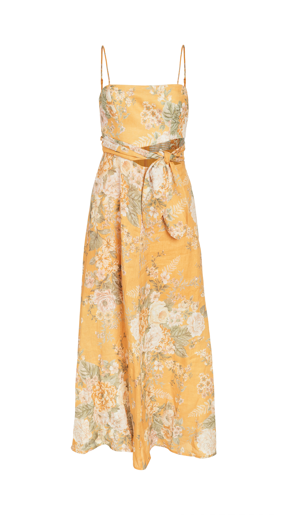 Zimmermann Amelie Scarf Tie Dress