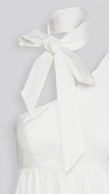 Zimmermann Juliette 绑带领口连衣裙