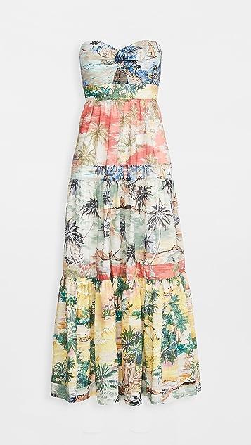 Zimmermann Juliette Tie Front Dress