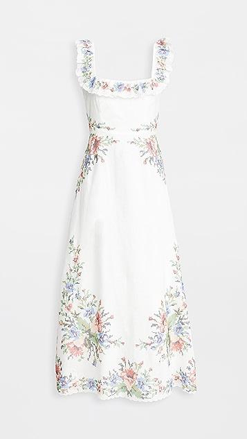Zimmermann Juliette Cross Stitch Dress