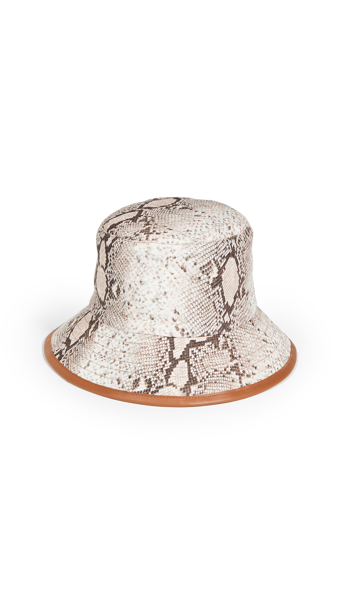 Zimmermann Reversible Linen Bucket Hat