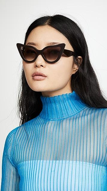 Zimmermann Солнцезащитные очки с узором «павлиний глаз»