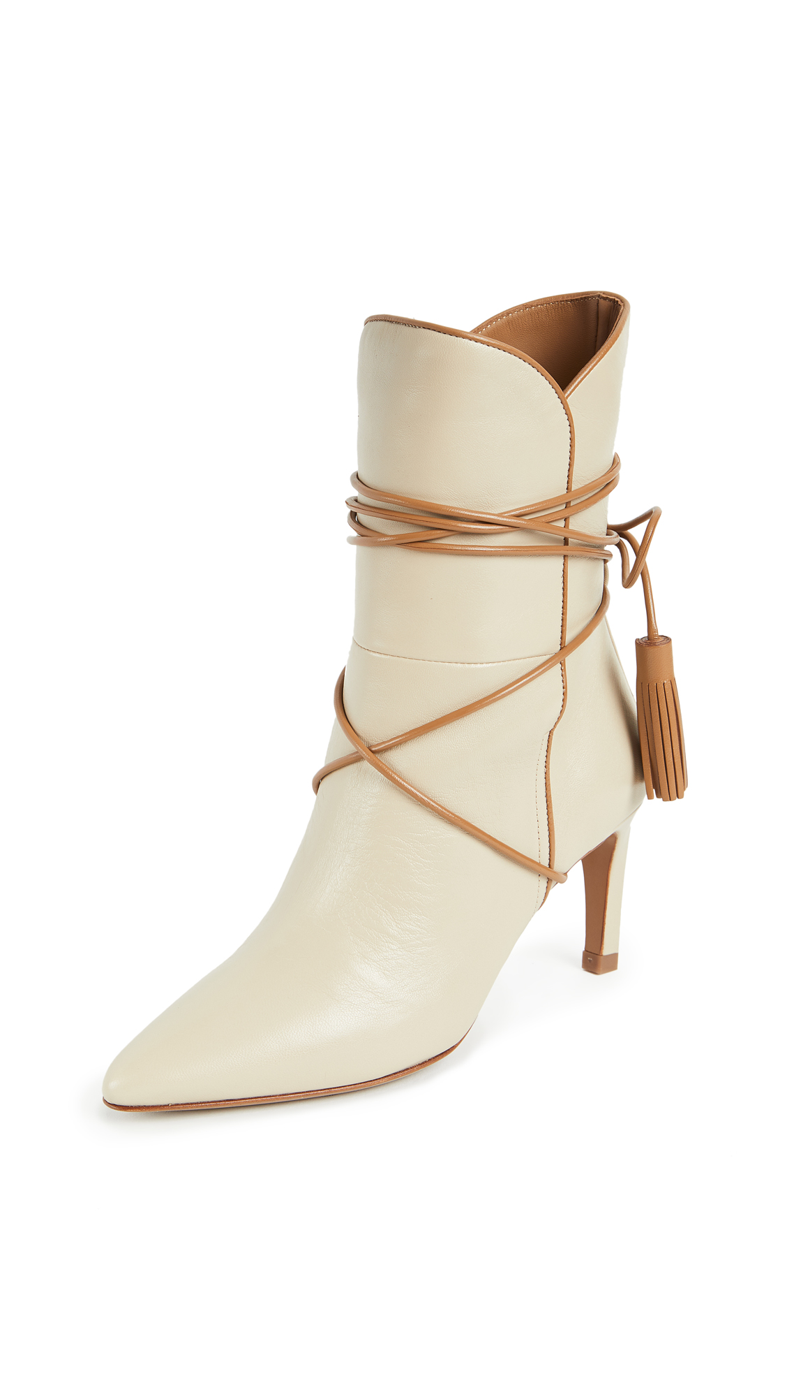 Zimmermann Wrap Tassel Booties