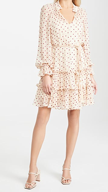 Zimmermann Ladybeetle Swing Mini Dress