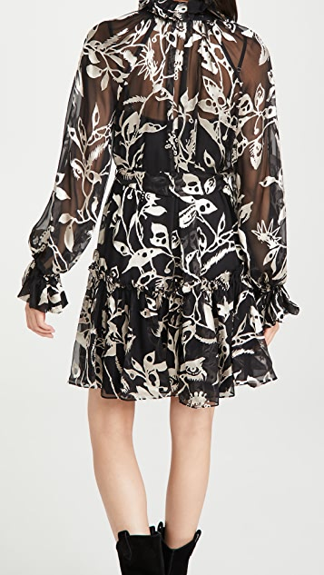 Zimmermann Ladybeetle Swing Mini Dress