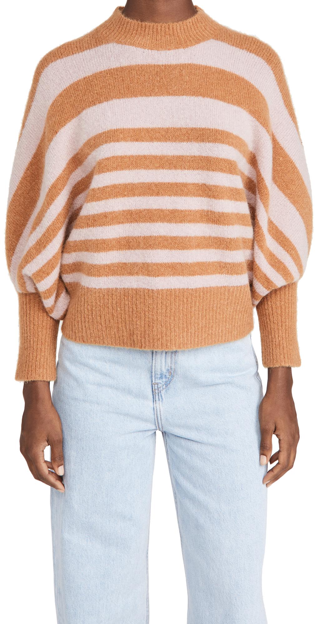 Zimmermann Ladybeetle Striped Sweater