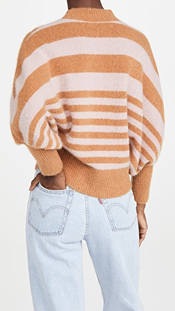 Zimmermann Ladybeetle Striped Sweater