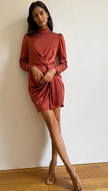 Zimmermann Silk Drape Dress