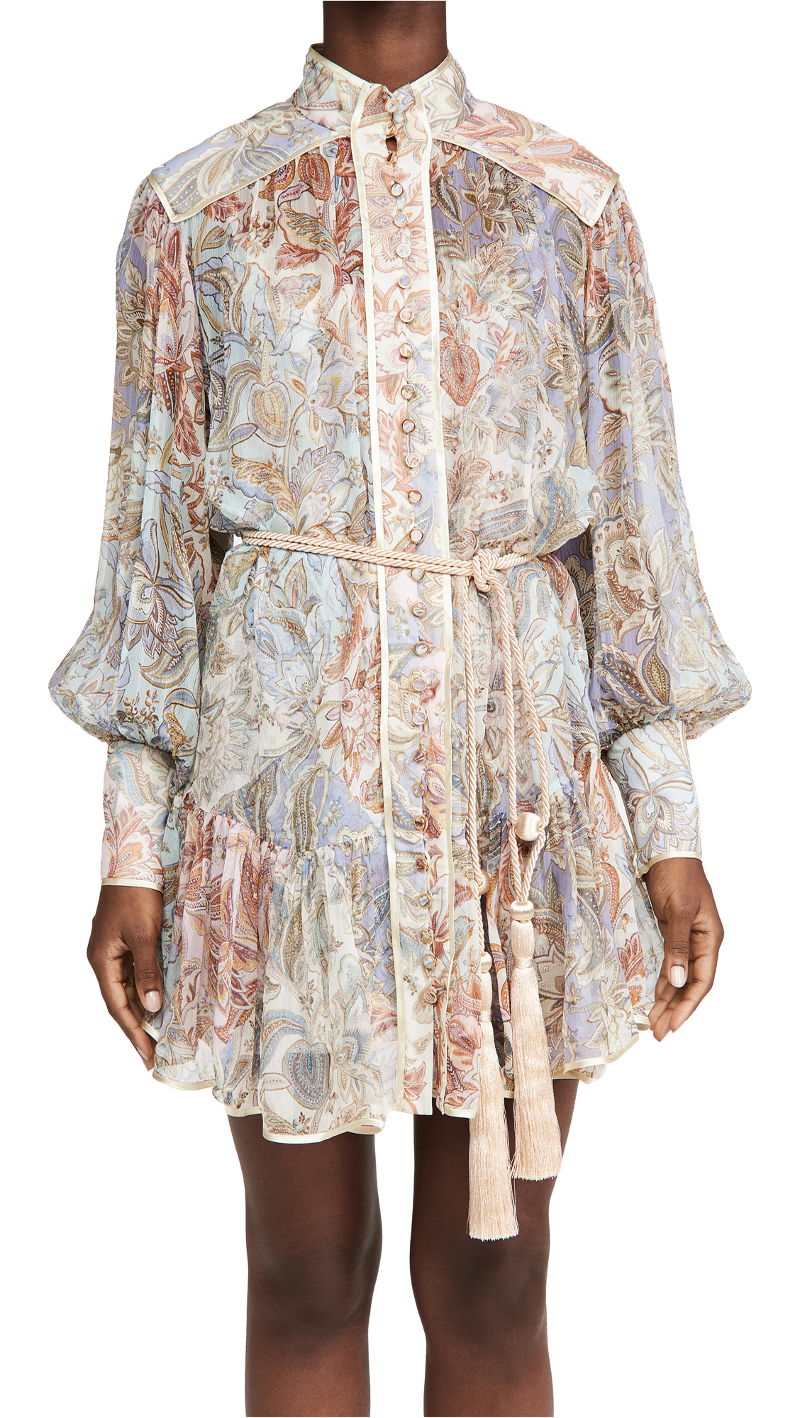 Zimmermann Lucky Bound Mini Dress