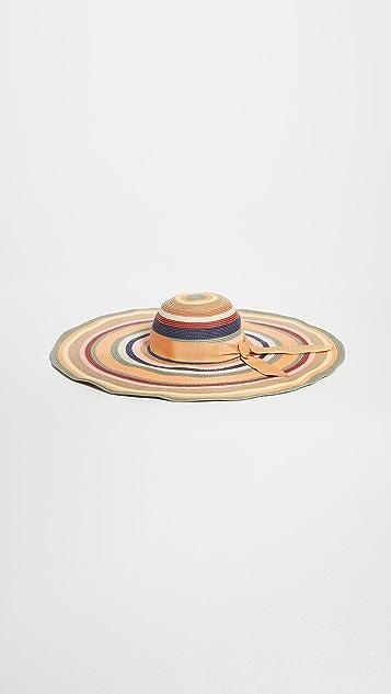 Zimmermann The Lovestruck 条纹太阳帽